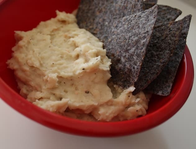 White Bean and Cheese Dip recipe by Barefeet In The Kitchen