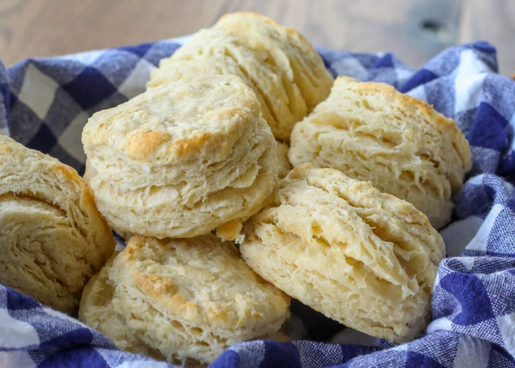 Light, fluffy, reliable homemade biscuits