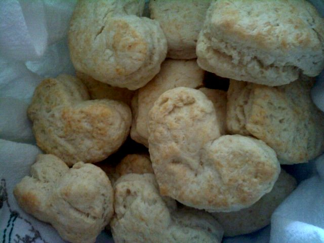 Light and Fluffy (reliable!) Biscuits recipe by Barefeet In The Kitchen