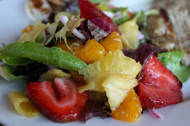 Red Wine and Honey Salad with Fruit recipe by Barefeet In The Ktichen