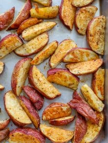 Roasted Red Potatoes are a great side dish for any meal!