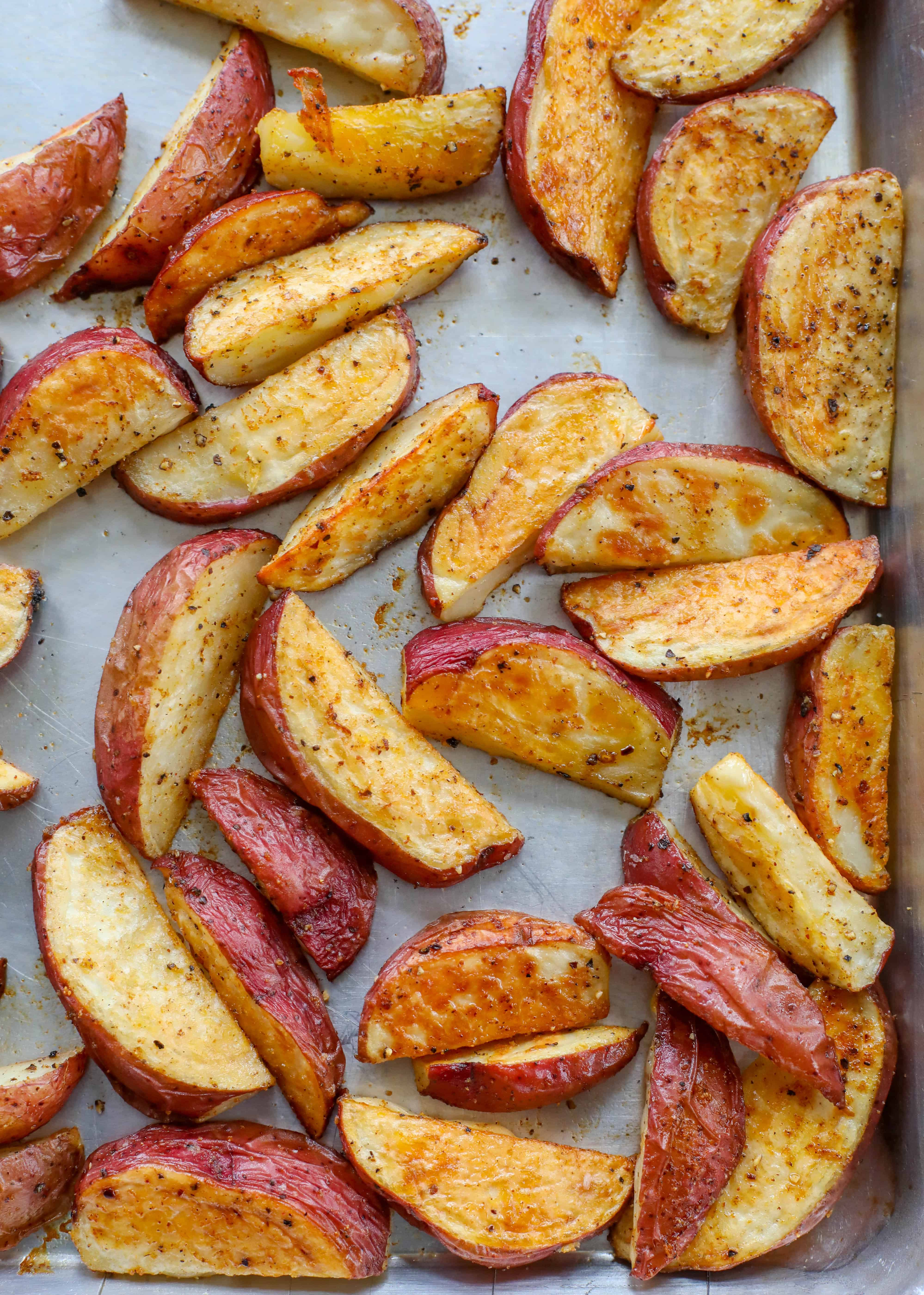 Roasted Red Potatoes Barefeetinthekitchen Com