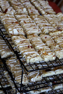 Almond Bars recipe by Barefeet In The Kitchen
