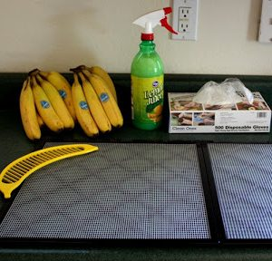 How To Dehydrate Bananas