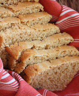 Honey Whole Wheat Bread with Soft White Wheatberries recipe by Barefeet In The Kitchen