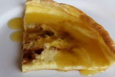 German Pancakes with Orange Sauce recipe by Barefeet In The Kitchen