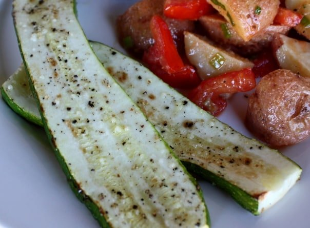 Broiled Zucchini recipe by Barefeet In The Kitchen