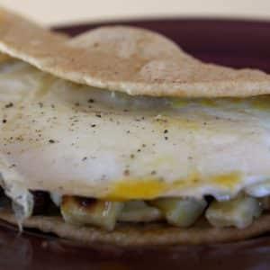 Huevos Rancheros Breakfast Wrap