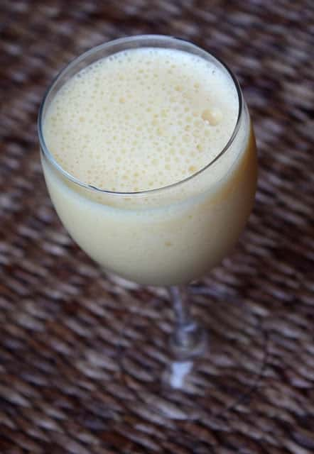 Pineapple Orange Julius Smoothie recipe by Barefeet In The Kitchen