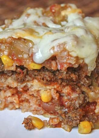 Layered Mexican Lasagna
