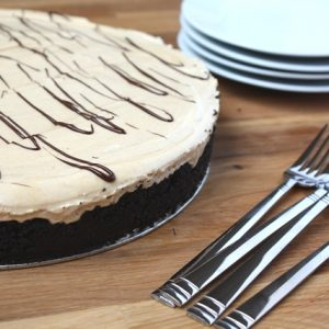 Peanut Butter Pie for Mikey