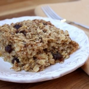 Cinnamon Spice Soaked & Baked Oatmeal