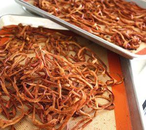 Dehydrated Cinnamon Spice Apple Peels