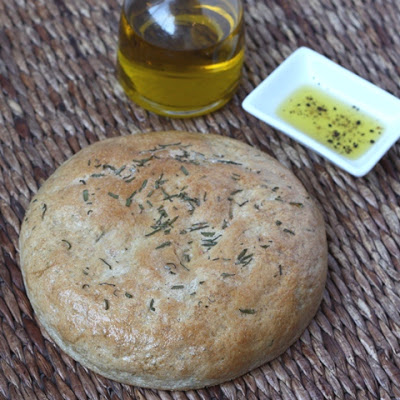 Rosemary Bread with Whole Wheat recipe by Barefeet In The Kitchen