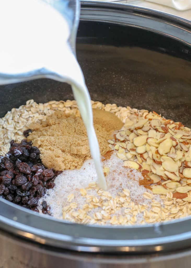 These CrockPot Oatmeal Recipes are a family favorite!