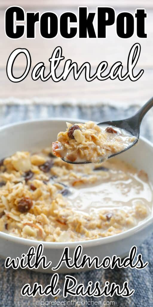 CrockPot Oatmeal Recipes are a hit with all ages!
