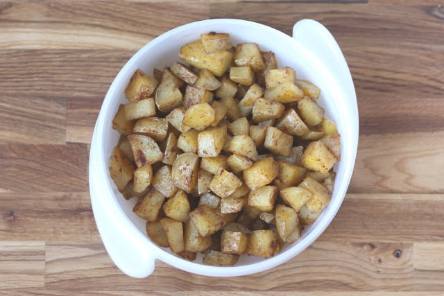 Roasted Breakfast Potatoes recipe by Barefeet In The Kitchen