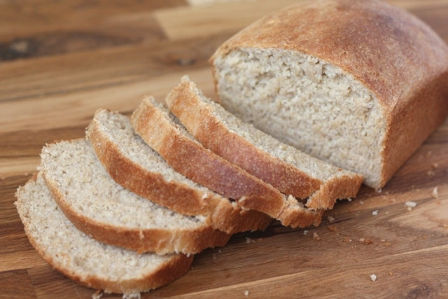 Whole Wheat Sandwich Bread recipe by Barefeet In The Kitchen