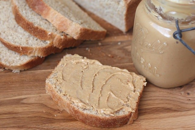 Homemade Peanut Butter recipe by Barefeet In The Kitchen