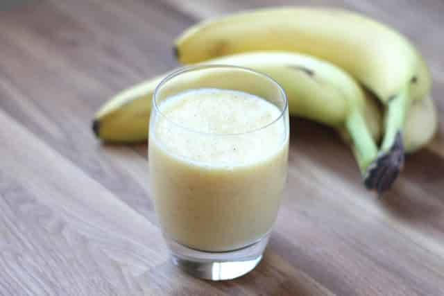 Simple Orange Banana Smoothie recipe by Barefeet In The Kitchen