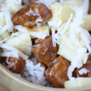 Pineapple Teriyaki Chicken Bowls and Tacos