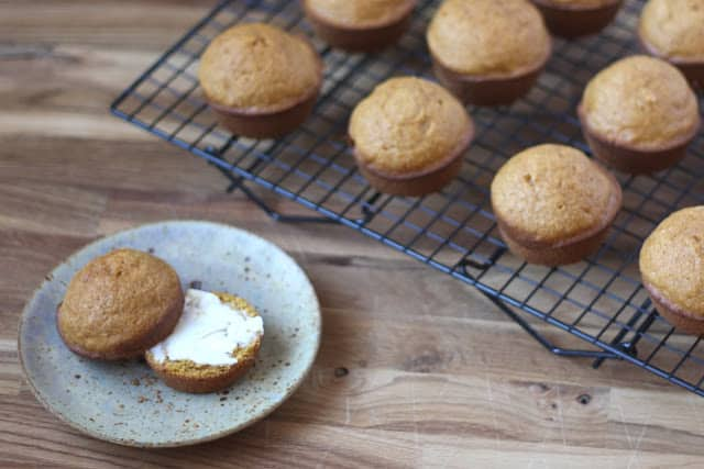 Whole Wheat Pumpkin Muffins recipe by Barefeet In The Kitchen