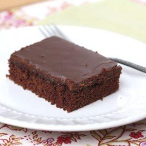 Texas Sheet Cake a.k.a. Best Chocolate Cake Ever