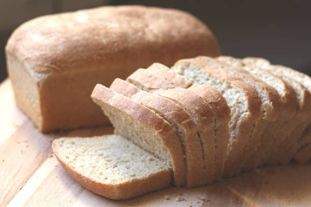 Beautiful Whole Wheat Sandwich Bread recipe by Barefeet In The Kitchen