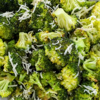 Oven Roasted Broccoli is pretty much the greatest side dish of all time.