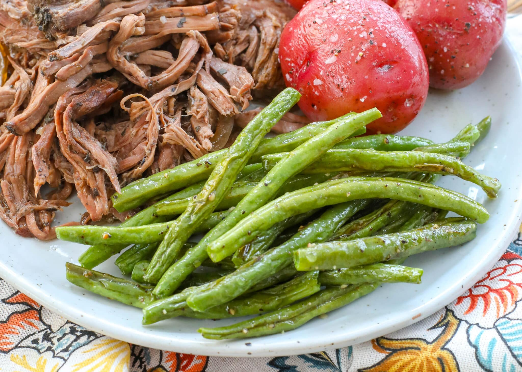 Roasted Green Beans are a terrific side dish that you can prep in just minutes.