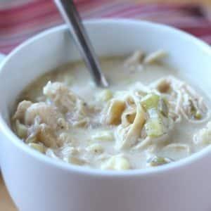 Chunky Chicken Corn Chowder