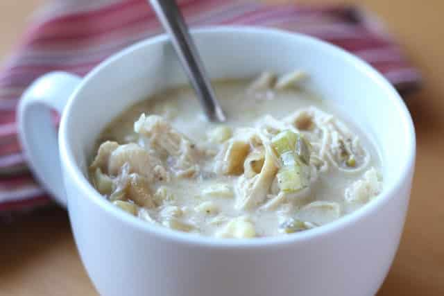 Chunky Chicken Corn Chowder recipe by Barefeet In The Kitchen