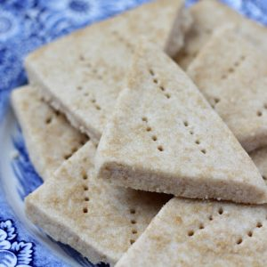 Brown Sugar Whole Wheat Shortbread