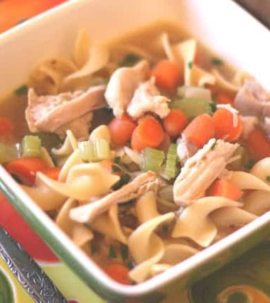 Vegetable Chicken Noodle Soup