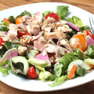 Garden Fresh Chicken and Black Bean Salad