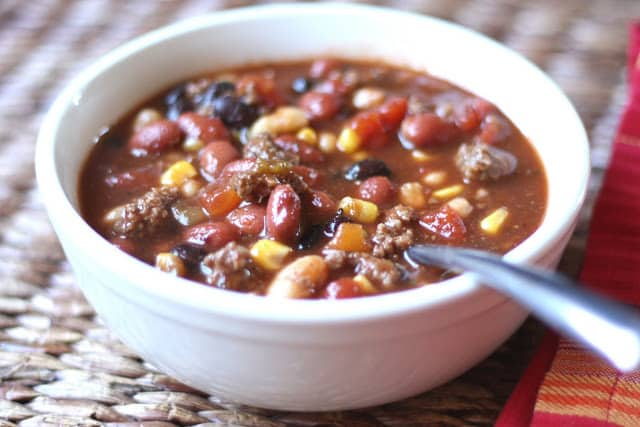 Taco Soup - Made by My Boys recipe by Barefeet In The Kitchen