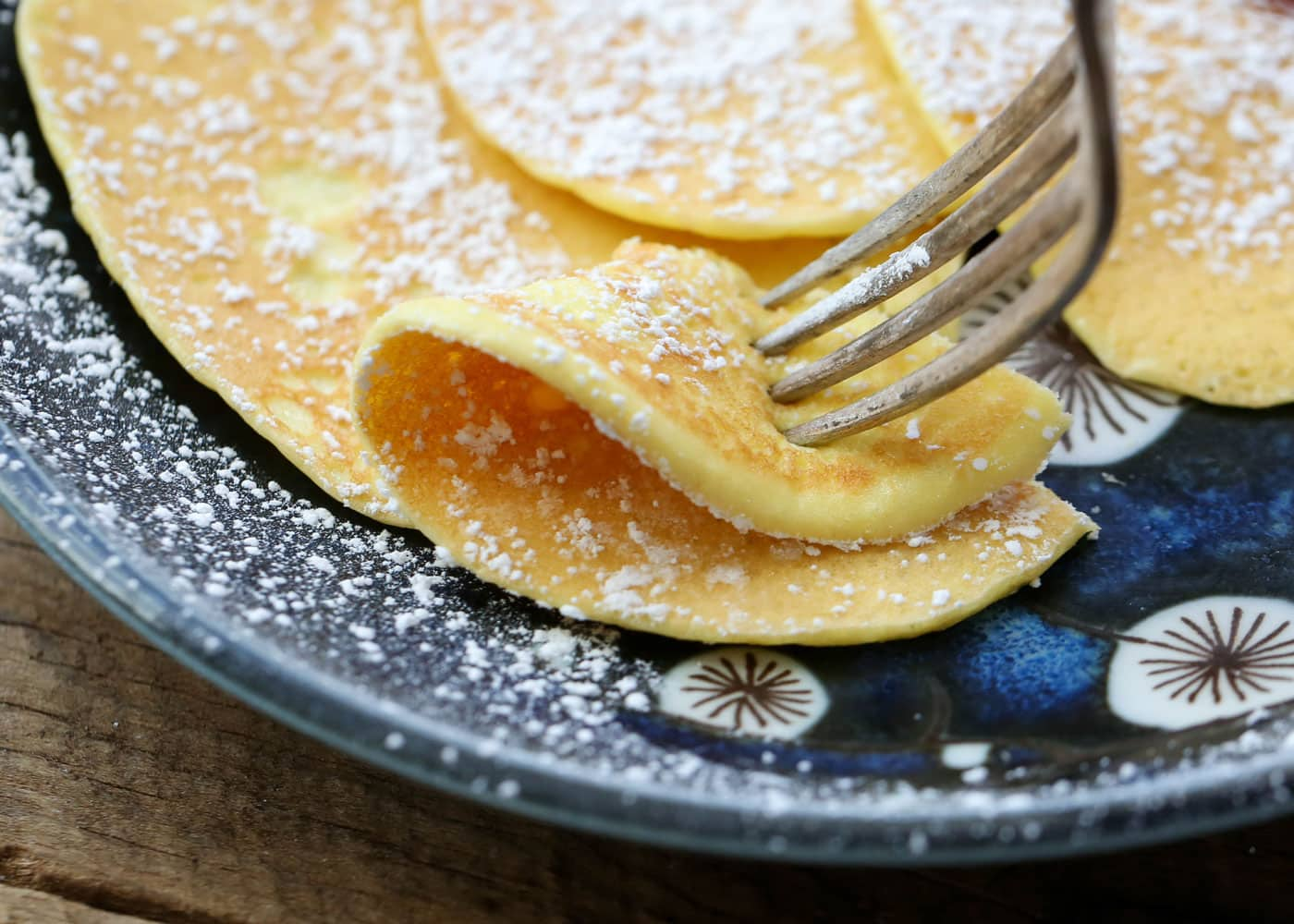 2 ingredient cream cheese pancakes ccuart Image collections
