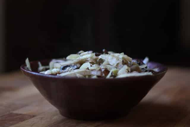 Fennel with Mushrooms recipe by Barefeet In The Kitchen
