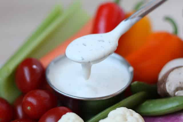 Peppery Dill Ranch Dressing recipe by Barefeet In The Kitchen