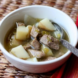 New Mexican Green Chile Stew