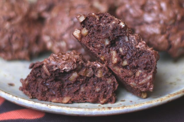 Bittersweet Chocolate Decadence Cookie recipe by Barefeet In The Kitchen