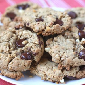 Oatmeal Chocolate Chip Peanut Butter Cookies