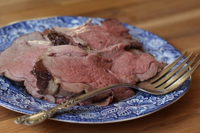 Roast Leg of Lamb recipe by Barefeet In The Kitchen