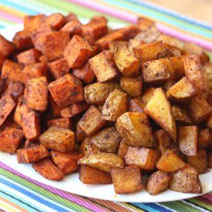 Cinnamon Chile Roasted Potato Bites