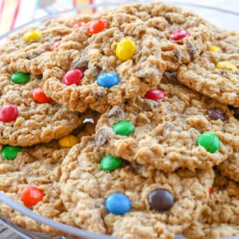 Monster Cookies are a family favorite!