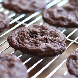 Delicate Chocolate Cookies {traditional and gluten free recipes}