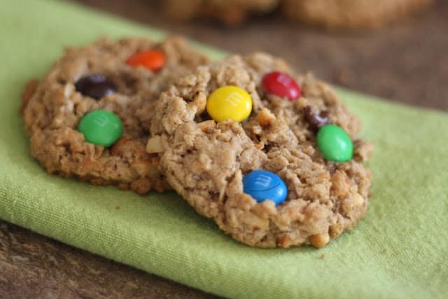 Monster Cookies recipe by Barefeet In The Kitchen