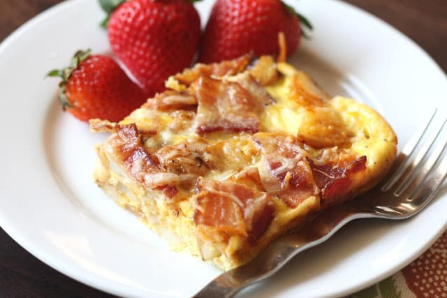 Red Potato and Bacon Quiche with Chipotle Peppers recipe by Barefeet In The Ktichen