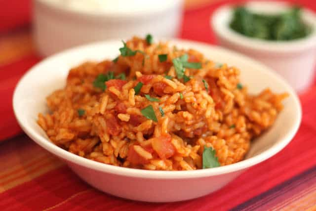 Spanish Rice recipe by Barefeet In The Kitchen