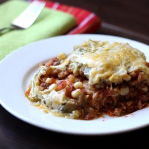 Southwestern Chicken Mexican Lasagna